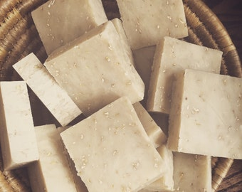 OATMEAL MILK and HONEY and Shea Butter -- Organic Ingredients
