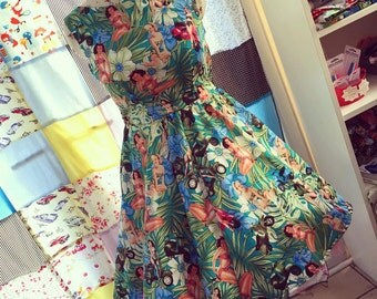 Pin up Rockabilly Dress