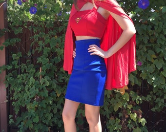 Super Girl Inspired Costume, size Small