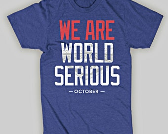 Chicago Cubs Playoffs World Serious T-Shirt