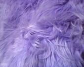 Powder Lavender  Faux Fur Craft Size