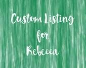 CUSTOM LISTING: Rebecca - wrap conversion ring sling