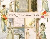 Vintage Fashion Eras printable