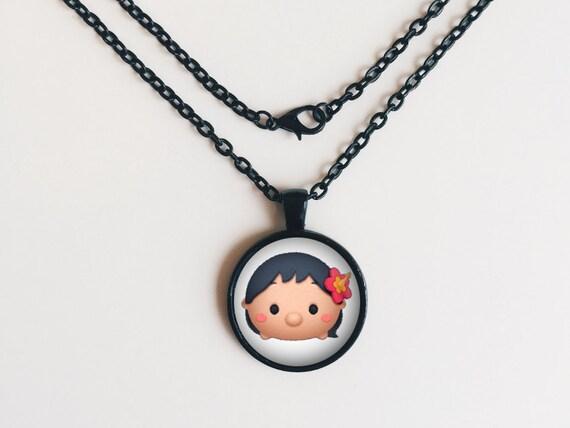 Lilo from Lilo & Stitch Tsum Tsum Necklace or Keychain