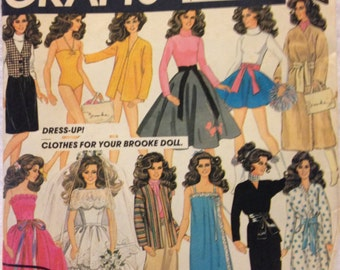 McCalls 8727 Brooke Shields Doll Clothes 1983