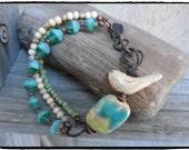 SALE Bohemian Stacking Bracelet Multi Strand