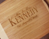 BAMBOO PERSONALIZED Personalized Cutting Board - Large