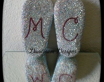 Custom Order Baby Shoes with Initials