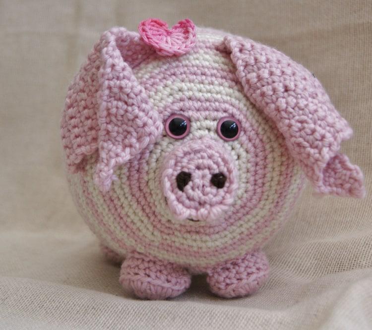 Crochet Pattern Notation : PDF Crochet Pattern for Persephone Pig UK by StringTheoryC