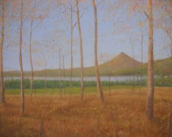 Schiehallion  Loch Rannoch Perth oil painting