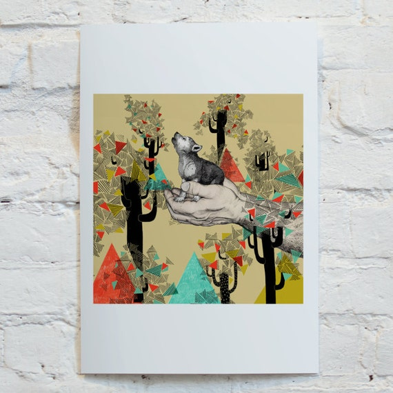 Found You There //Signed A4 print
