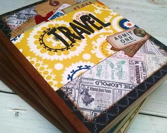 Travel Journal Notebook Smashbook Art Journal Travel Vacation Road Trip Honeymoon