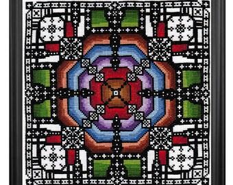 Gossamer Threads Three PDF Cross Stitch Pattern