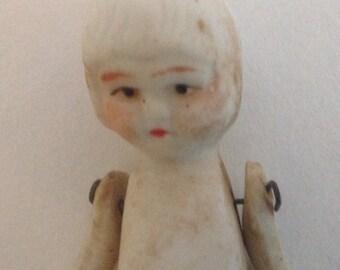 Delicate Vintage Bisque Doll