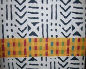 Tribal Kente Mix African fabric by the yard Discounted/ African fabric/ Kente fabric/ Kente cloth/ African Textiles/ African Craft fabric