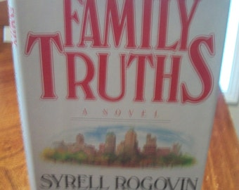 Family Truths By Syrell Rogovin Leahy 1984 HB