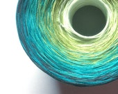 Color Change Gradient Yarn - oasis - 'Moca Cotton' Yarn - 6 colors - 540 yards - fingering weight yarn - pure cotton