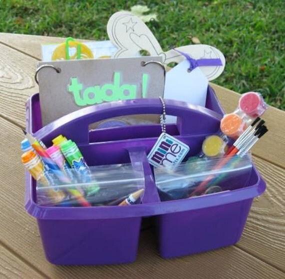 Rainbow Art Caddy for Kids