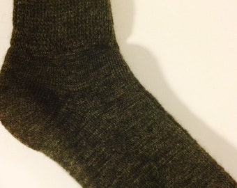 Alpaca Socks - Men's Dark Grey