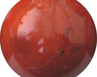 40mm Jasper, Red sphere