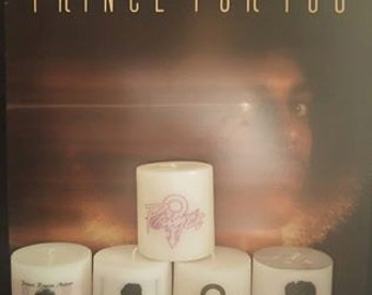 Prince Candles - Prince Symbol Candles - Prince Memorial Candle