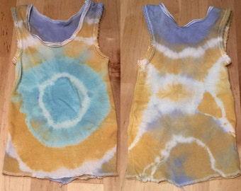 Size 0000  Tie Dyed Baby Singlet