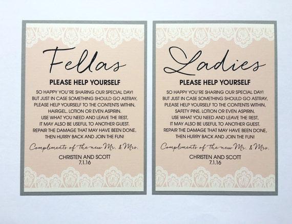 Wedding Signs Wedding Welcome Sign Wedding Bathroom Signs