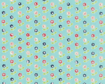 Vintage Picnic by Bonnie and Camille - Rosie in Aqua (55121-12) - Moda - 1 Yard