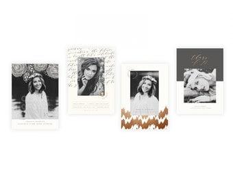 INSTANT DOWNLOAD  Classic Black & White Grad vol 2 Collection