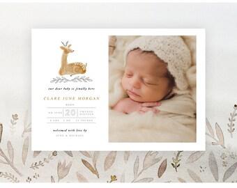 Baby Deer 5x7 WHCC Card