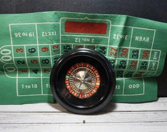 Bakelite Roulette Wheel