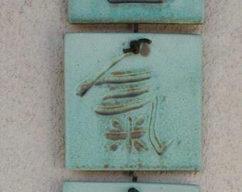 Aikido Tiles with Lewenstein glaze (thin)