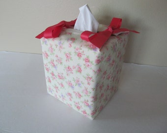 Tissue Box Cover/Small Flower