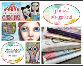 Journal Playground - Online Journal Making Workshop