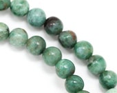 "MOVING SALE African ""Jade"" Beads - 6mm Round - Full Strand"