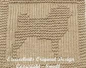 Knitting Cloth Pattern - PUG - PDF