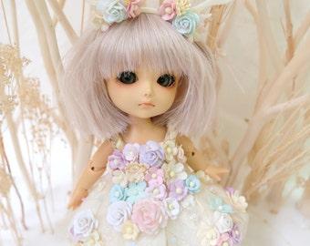 Lati Yellow Angel Flowers dress