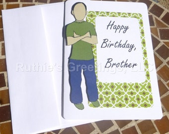 My Brother - Handmade Birthday Card