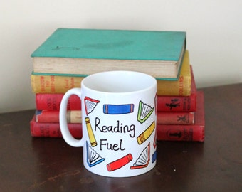 Reading Fuel Printed Mug