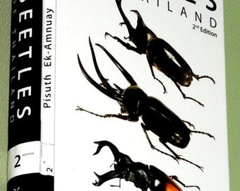 "We accept Bitcoin! unique ""Beetles of Thailand"" book 2nd revised Edition (2008) Coleoptera Entomology field reference guide"