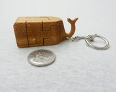 Jonah in the Whale Wood Puzzle/Key Fob