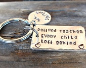 Retired Teacher -  Retirement Gift - Teacher Keychain - Funny gift - Teacher Gift - Teacher Appreciation - Personalized -