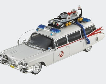 Ghostbusters Ecto-1 Ambulance Hot Wheels Model 1:18 Scale Diecast Car