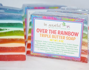 Over the Rainbow Soap