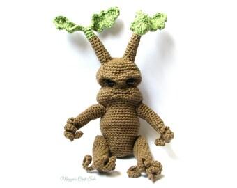 Amigurumi Mandrake : Crochet mandrake Etsy