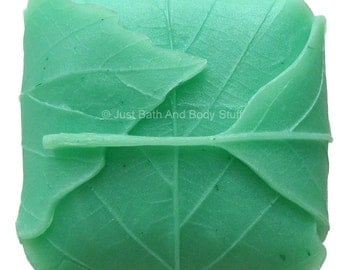Folded Leaves Handcrafted Novelty Soap Bar by Just Bath And Body Stuff / JBABS