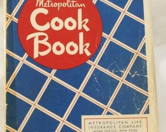 Metropolitan cookbook recipe book by MetLife