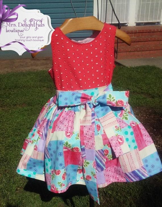 dress, pillowcase dress , shamrock , green skirt, boutique kids clothes, boutique bows
