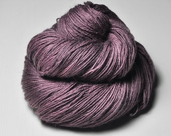 Magnolia starting to wither OOAK  - BFL Sock Yarn Superwash