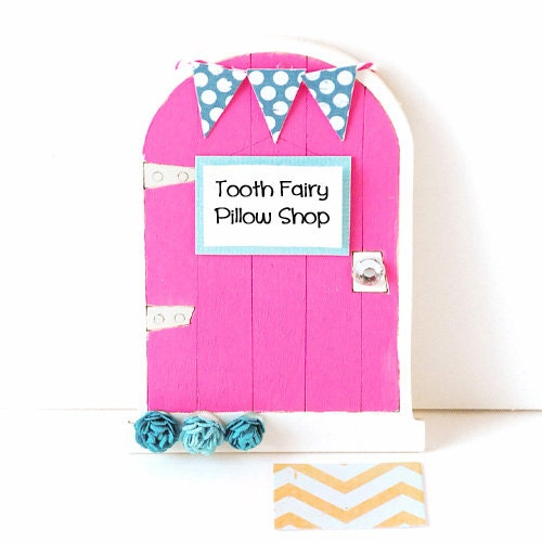 Personalized Tooth Fairy Pillows & Tooth by ToothFairyPillowShop